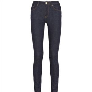 Acne Studio High Rise Pin Jeans 24